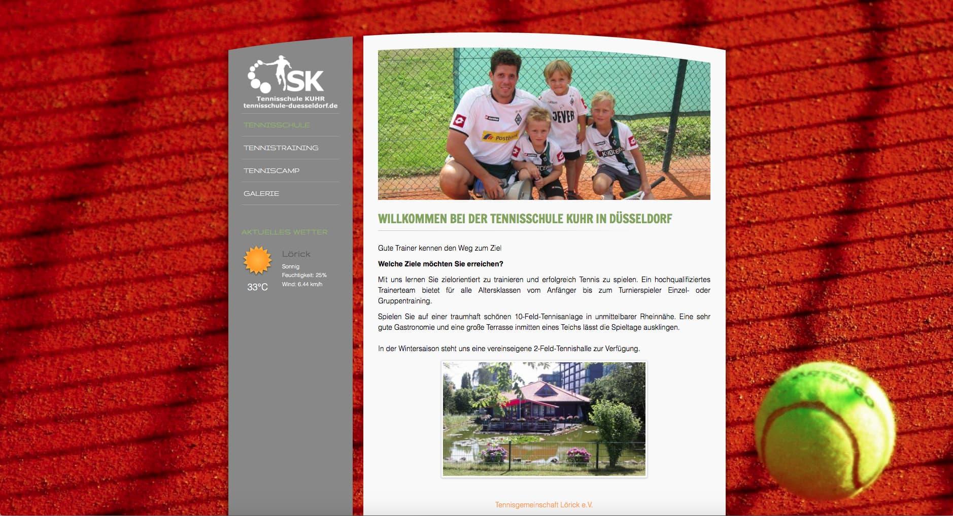 Tennisschule-Kuhr.de